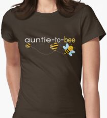 Auntie To Bee.. Womens Fitted T-Shirt