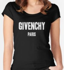 Givenchy Paris Women's Fitted Scoop T-Shirt