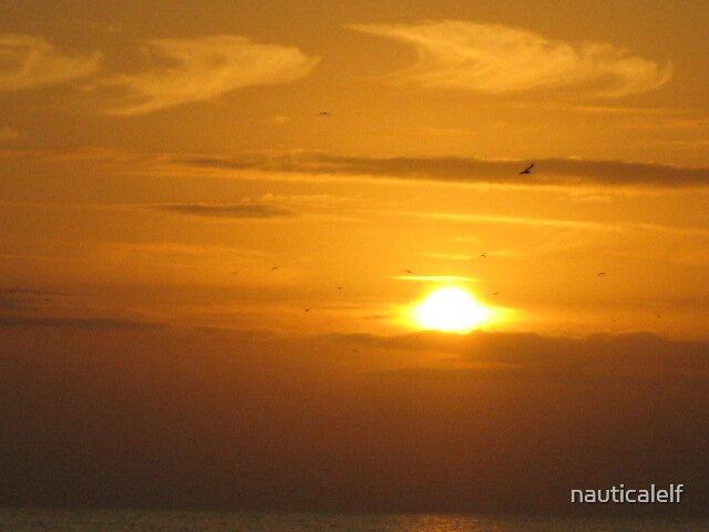 Sunrise Satellite Beach by nauticalelf