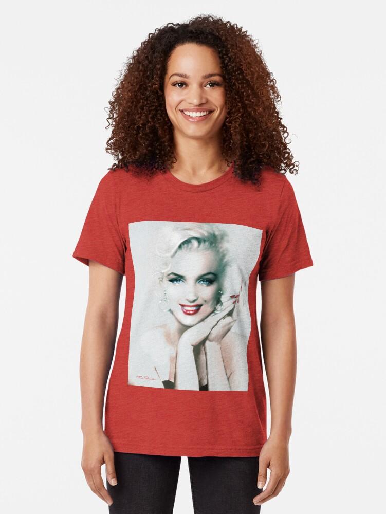 Alternative Ansicht von Theo Danella´s Marilyn MM 133 Vintage T-Shirt
