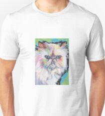 Himalayan Persian Cat Bright colorful pop kitty art T-Shirt
