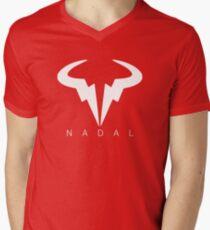 Rafael Nadal Men's V-Neck T-Shirt