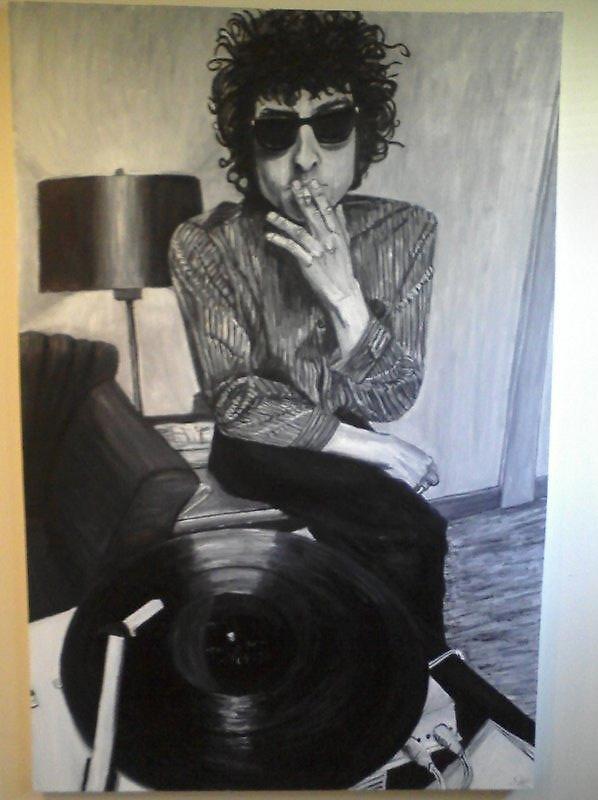 Bob Dylan by lotus720