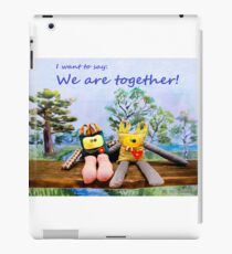 We are together iPad Case/Skin