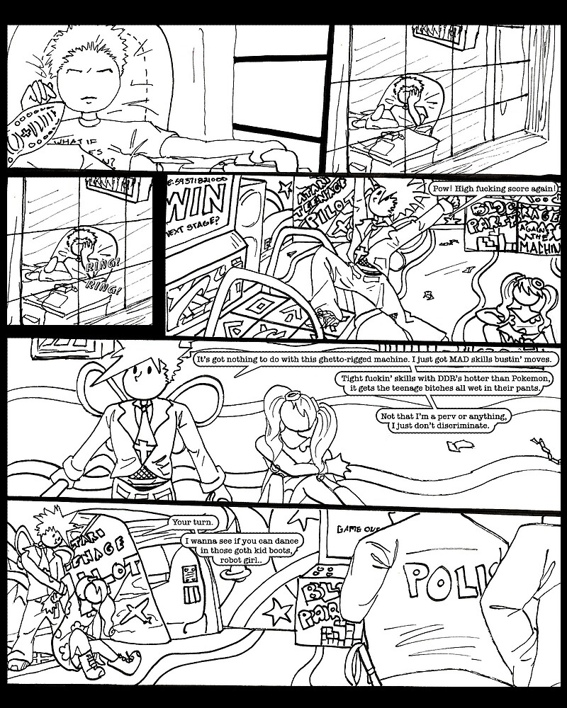 Catastrophe Issue #1 Page 3 by LisaCharly