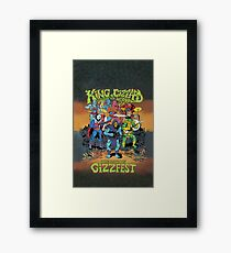 King Gizzard and the Lizard Wizard Gizzfest Framed Print