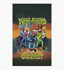 King Gizzard and the Lizard Wizard Gizzfest Photographic Print