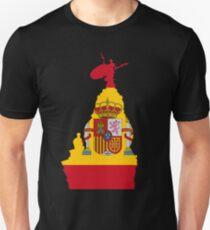 Sevilla, Giralda and the spanish flag T-Shirt