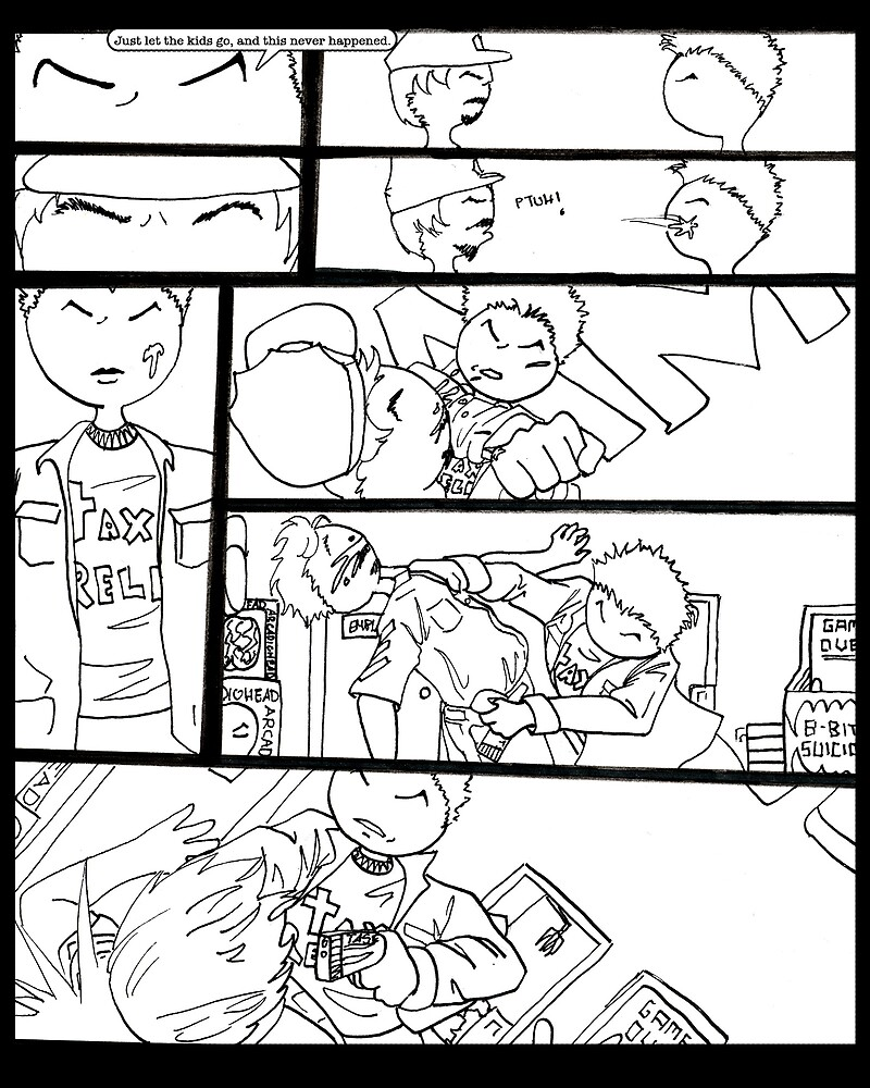 Catastrophe Issue #1 Page 7 by LisaCharly