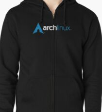 Arch Linux Zipped Hoodie