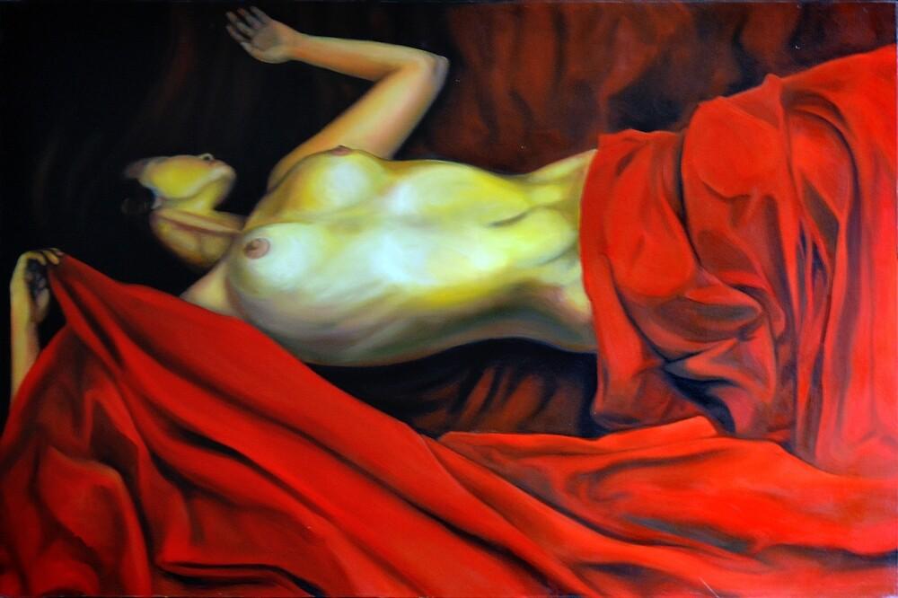 Dream, 2012, 120-80cm, oil on canvas by oanaunciuleanu