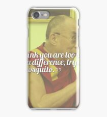 Inspirational, Movational and Timeless Quotes - Dalai Lama 10 iPhone Case/Skin
