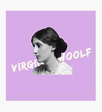 Virginia in lavender Photographic Print