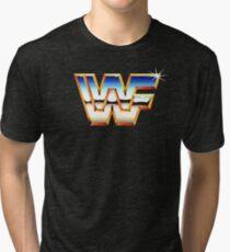 World Wrestling Nostalgia! Tri-blend T-Shirt