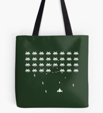 Space Invaders 1 (dark) Tote Bag