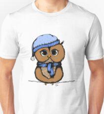 Little owl (color) Unisex T-Shirt