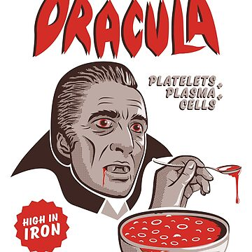 Count Dracula Cereal | Count Chocula Inspired by JustSandN