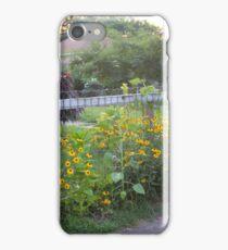 GARDEN FENCE iPhone Case/Skin