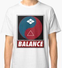 Yin Yang Samurai Balance Classic T-Shirt