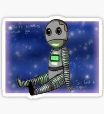 Robot Sticker Sticker