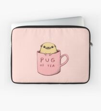 Pug of Tea Laptop Sleeve