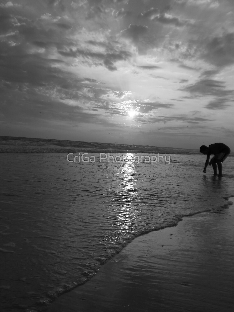 play in the sand by CriGa Photography
