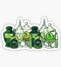Apothecary- poison Sticker