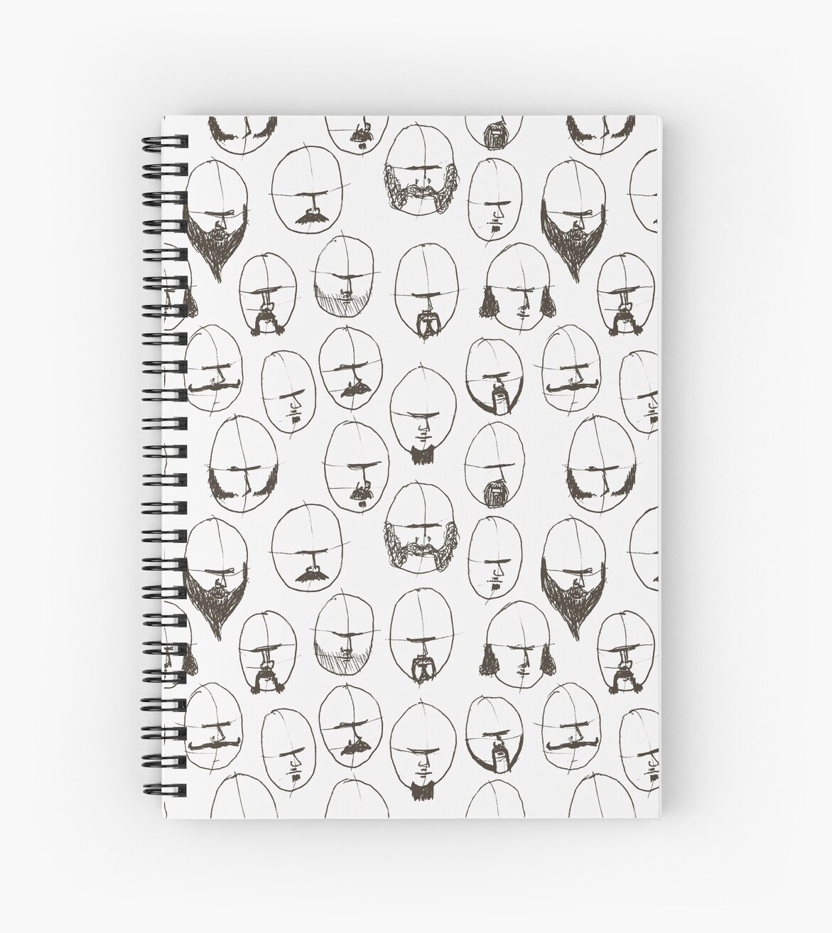 Moustaches and Beards by Matt Andrews