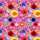 Pink Floral Wonderland by rupydetequila