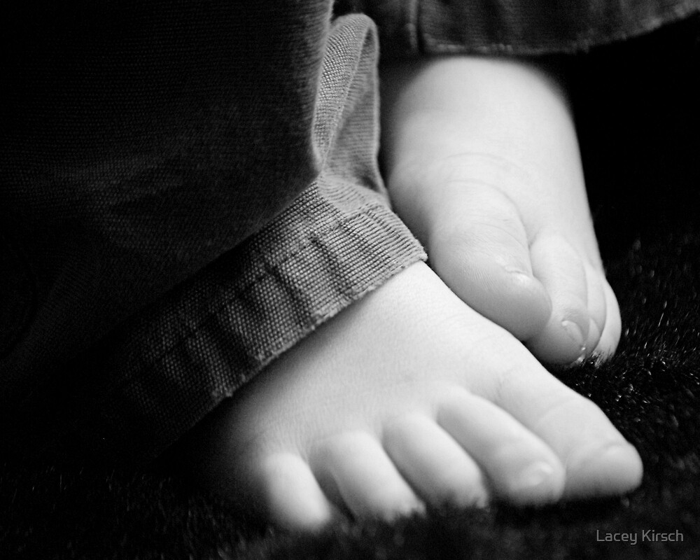 Thank You, Lord, For Little Feet by Lacey Kirsch