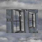 Floating Shutters in the Clouds by Wayne King
