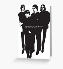 Velvet Underground Greeting Card