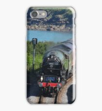 60163 'Tornado' approaches Sugar Loaf iPhone Case/Skin