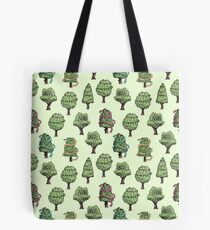 Decorated Trees Tote Bag