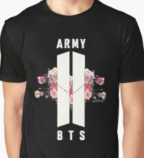 BTS&ARMY: Beyond The Scene (No Background) Graphic T-Shirt
