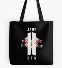 BTS&ARMY: Beyond The Scene (No Background) Tote Bag