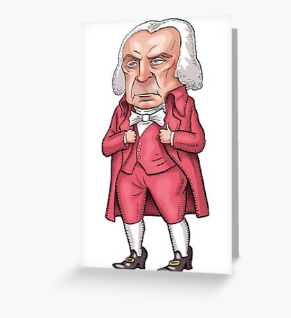 President James Madison Greeting Card