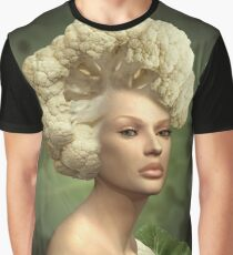 Charismatic Cauliflower Graphic T-Shirt