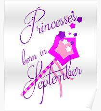 Princesses Born in September Poster