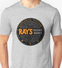Ghostbusters - Rays Occult Books Unisex T-Shirt