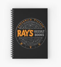 Ghostbusters - Rays Occult Books Spiral Notebook