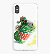 Snake & Miller on a... mountain dew. iPhone Case