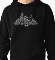 Not All Those Who Wander Are Lost - JR Tolkien Pullover Hoodie