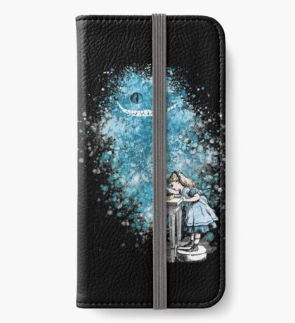 Alice Adventures In Wonderland Funda tarjetero para iPhone