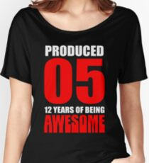 12 Years Old Women's Relaxed Fit T-Shirt