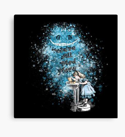 Alice Adventures In Wonderland Lienzo