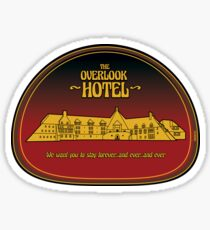 The Overlook Hotel - Stay Forever Sticker