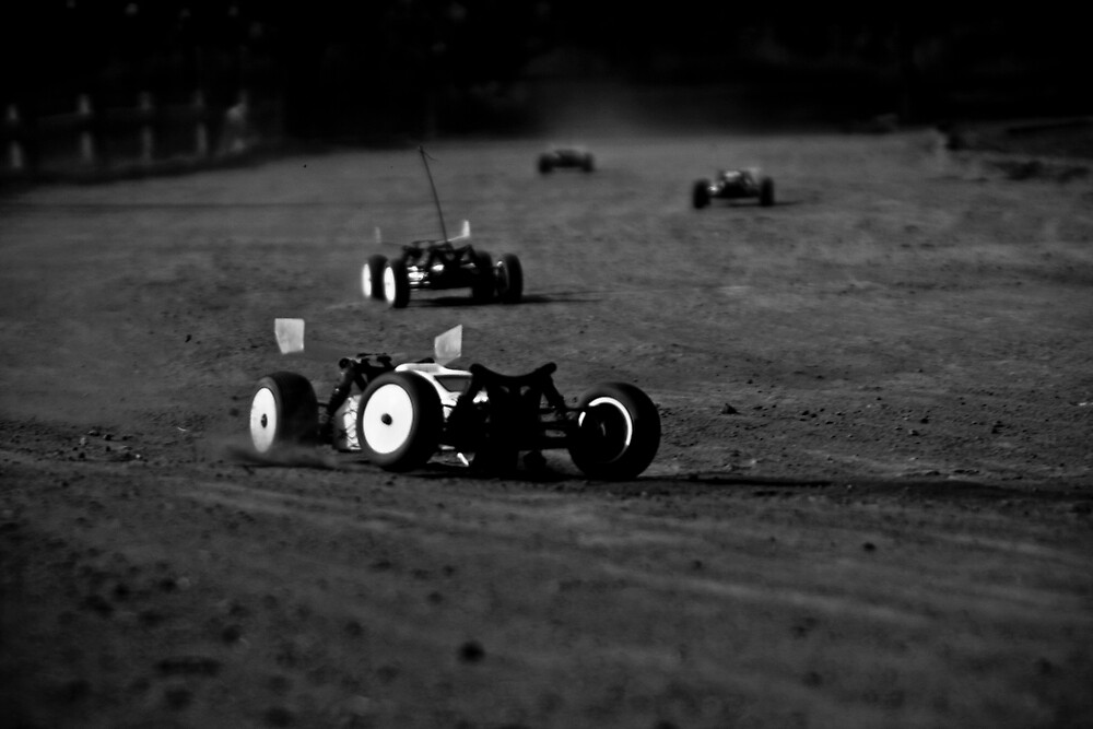 RC Car racing at it's finest...  by Luke Glendenning