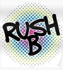 Rush B – Counter-Strike: Global Offensive Poster