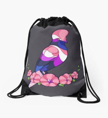 Pride Birds - Genderfluid Drawstring Bag